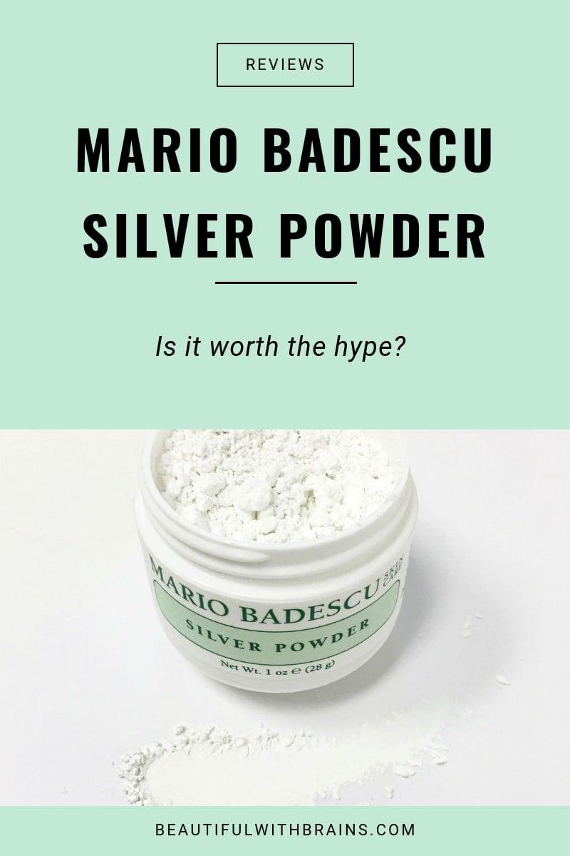 mario badescu silver powder review