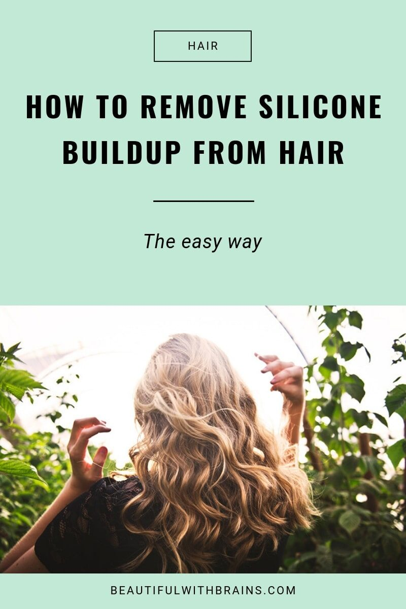 remove silicone buildup from hair