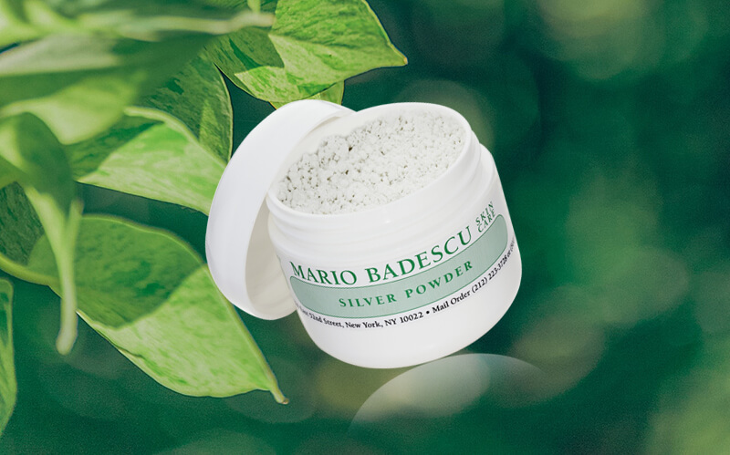 review mario badescu silver powder