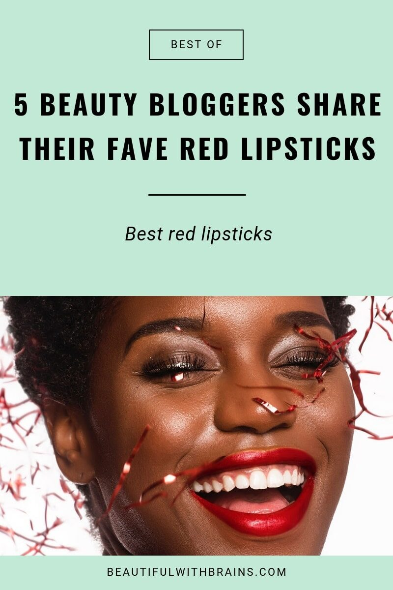 beauty bloggers' fave red lipsticks
