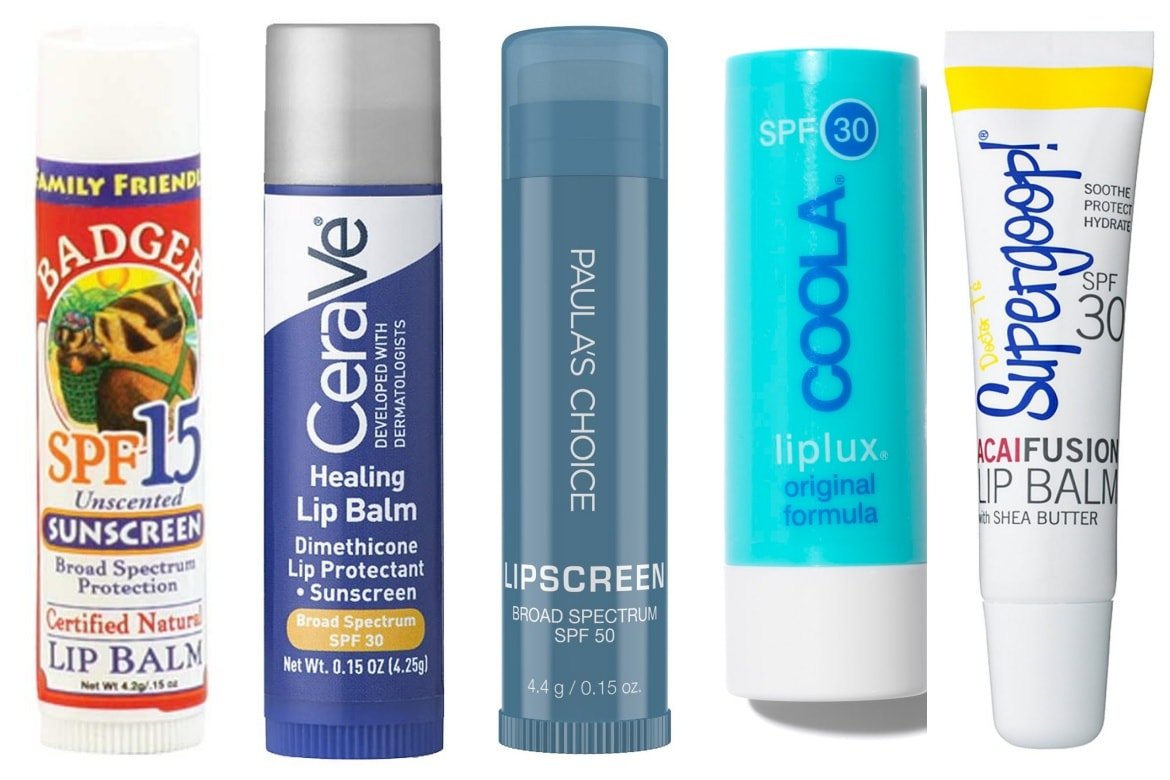 best lip balms with spf