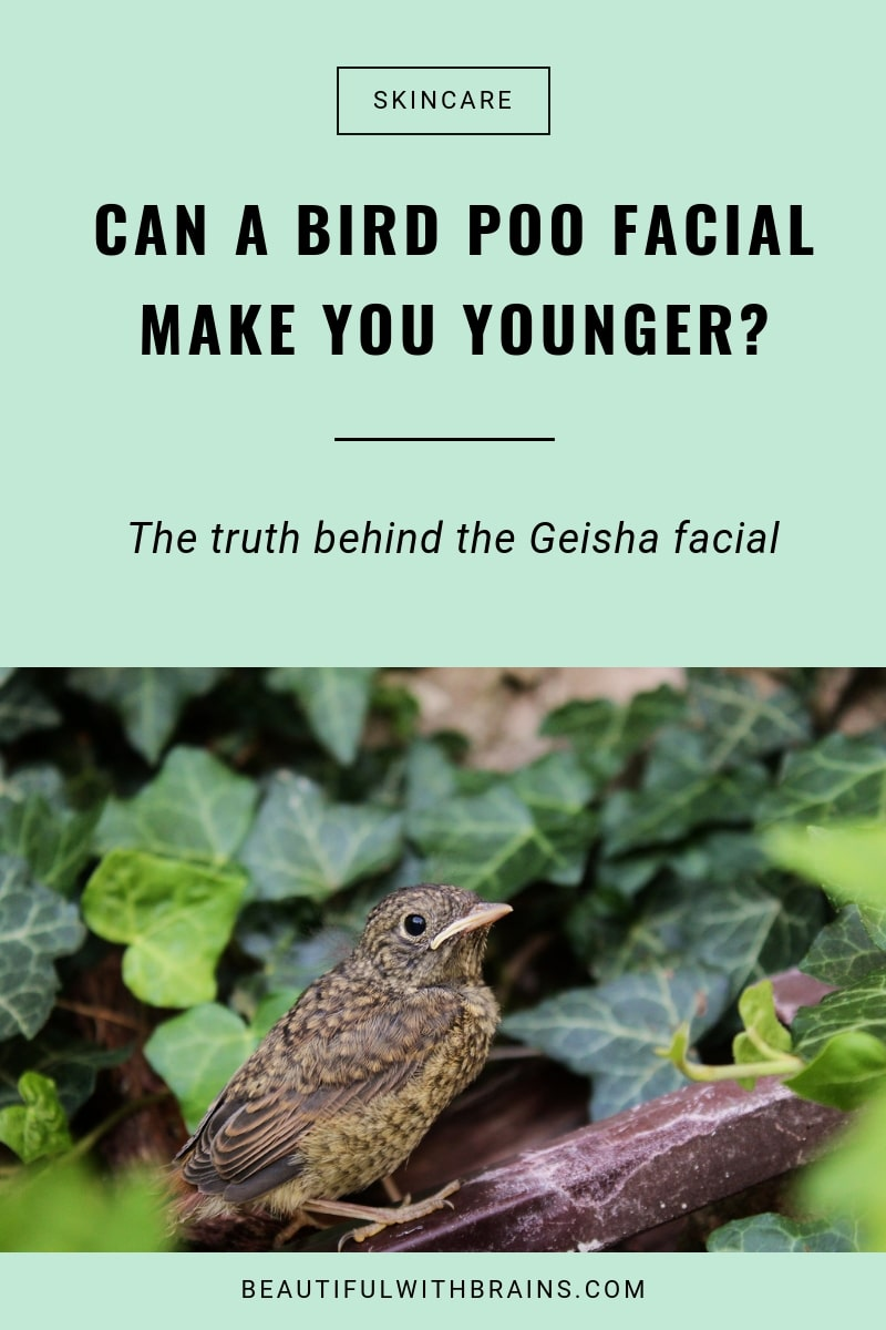 does the geisha facial make you younger