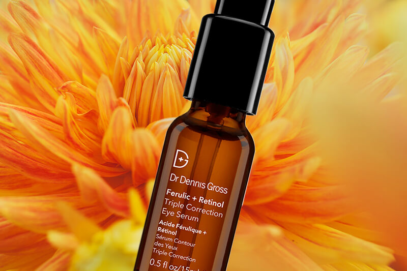 dr. dennis gross ferulic + retinol triple correction eye serum review