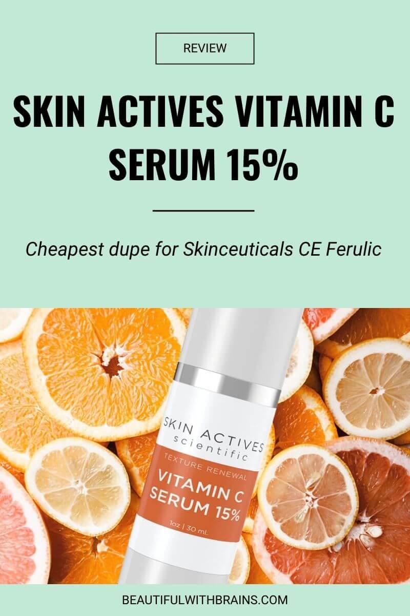 skin actives vitamin c serum 15 review