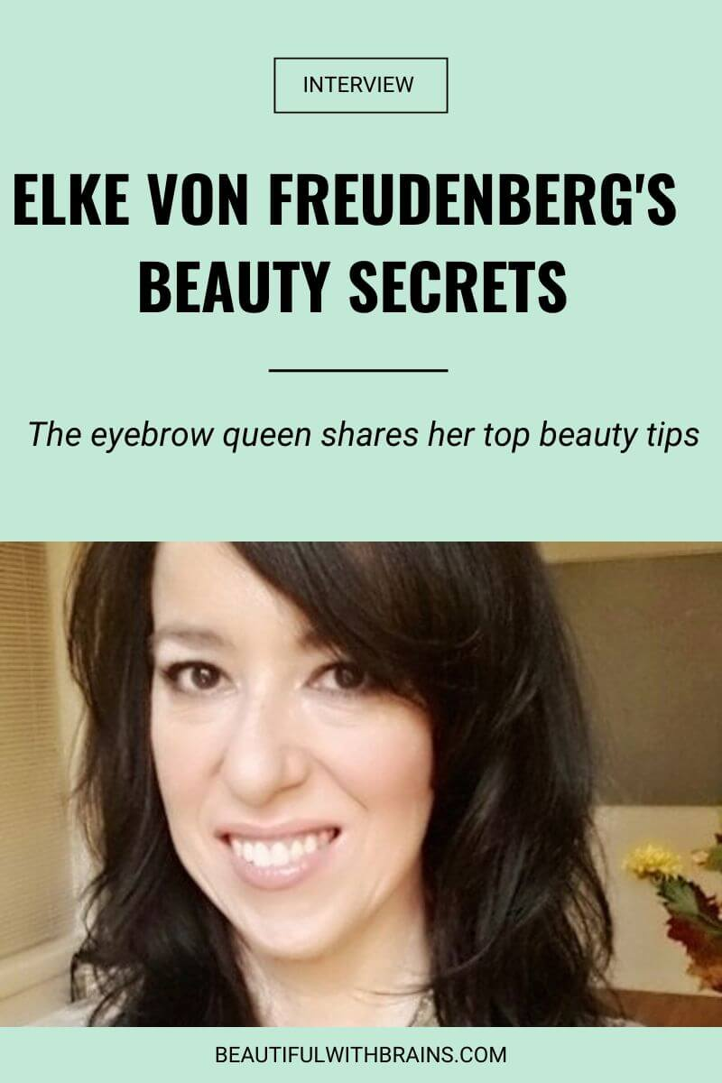 elke von freudenberg beauty secrets interview