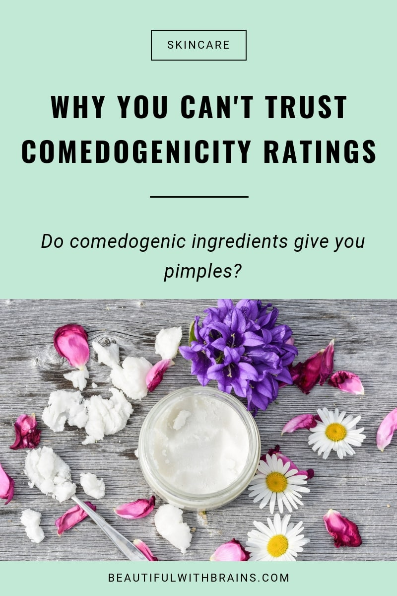 why you can't trust comedogenicity ratings