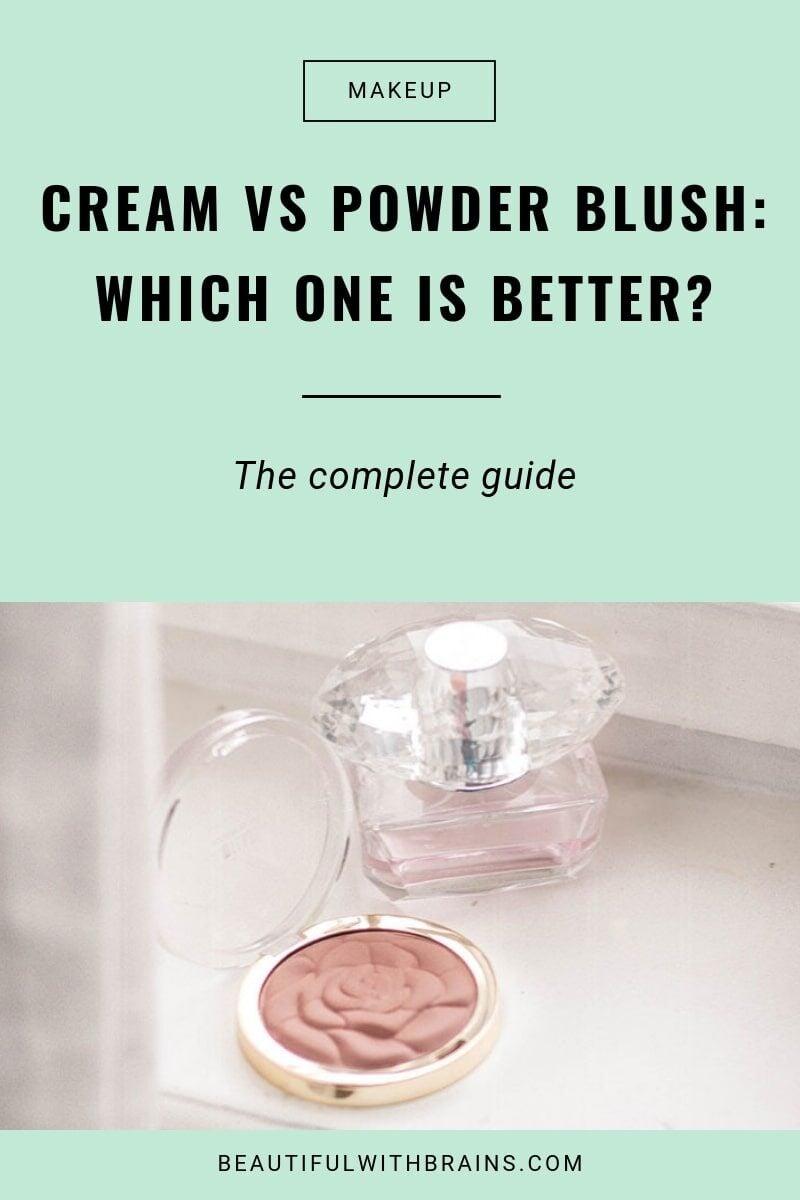 better powder or cream blush