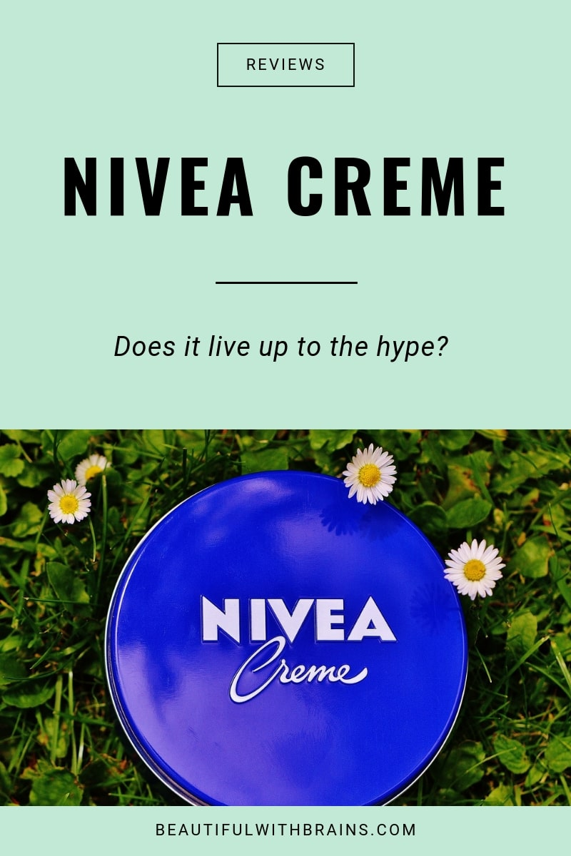 review nivea creme
