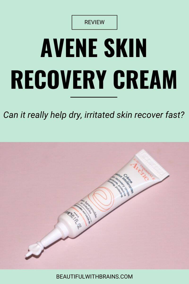 avene skin recovery cream review