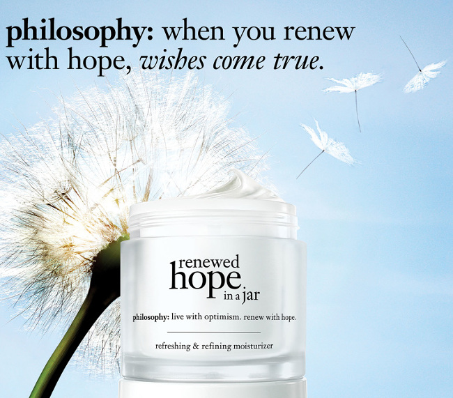 philosophy renewed hope in a jar
