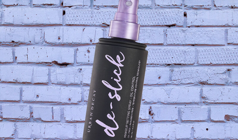 urban decay de-slick makeup setting spray