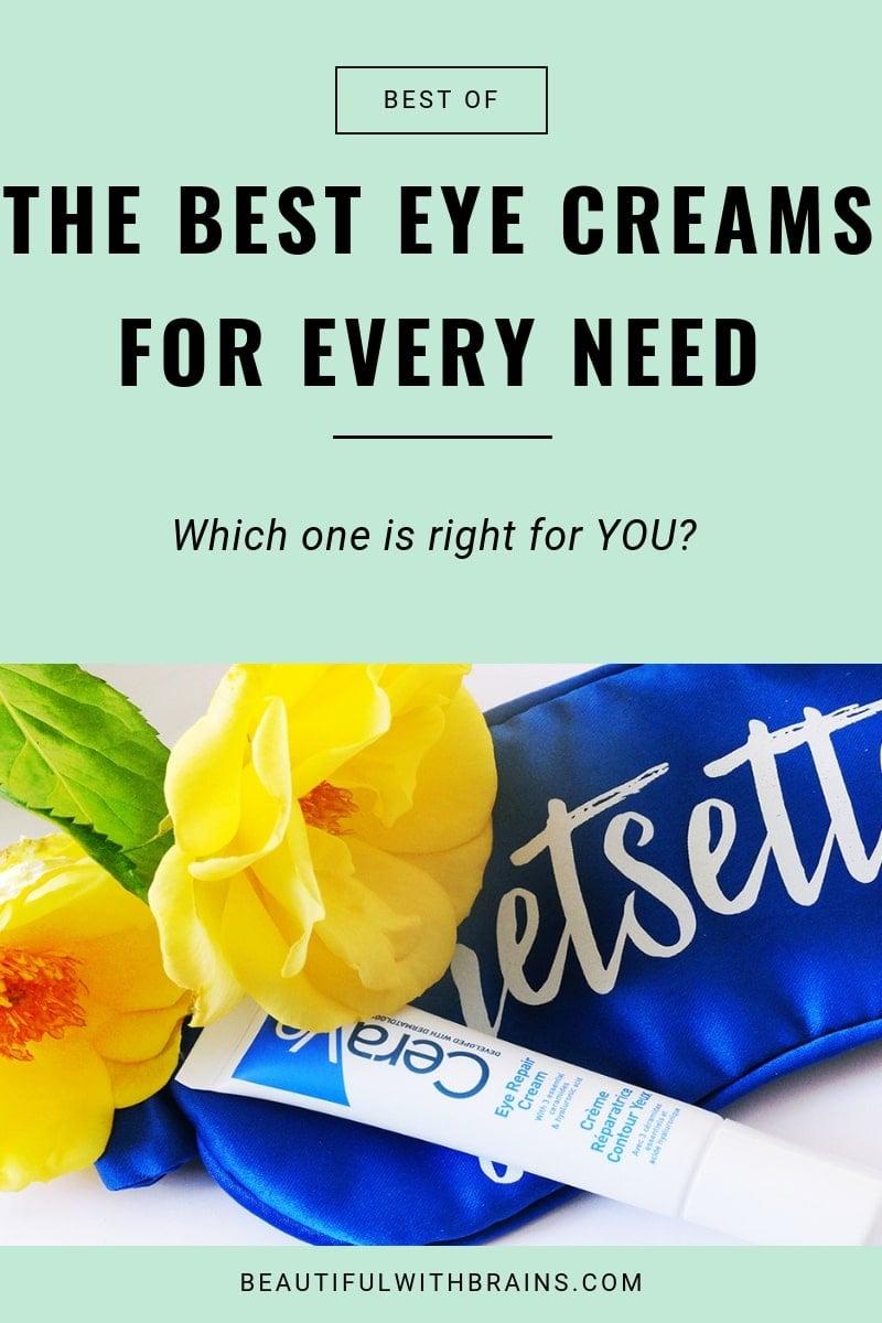 best eye creams and serums
