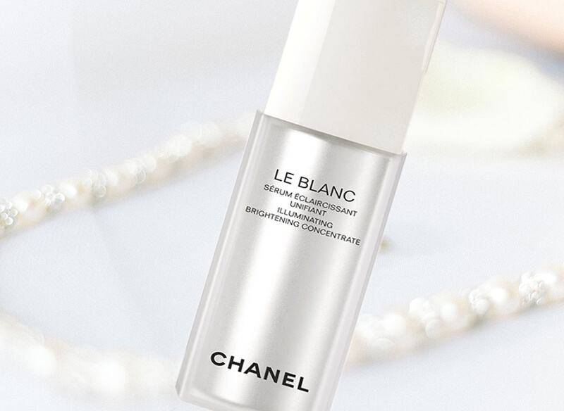 chanel le blanc illuminating brightening concentrate review