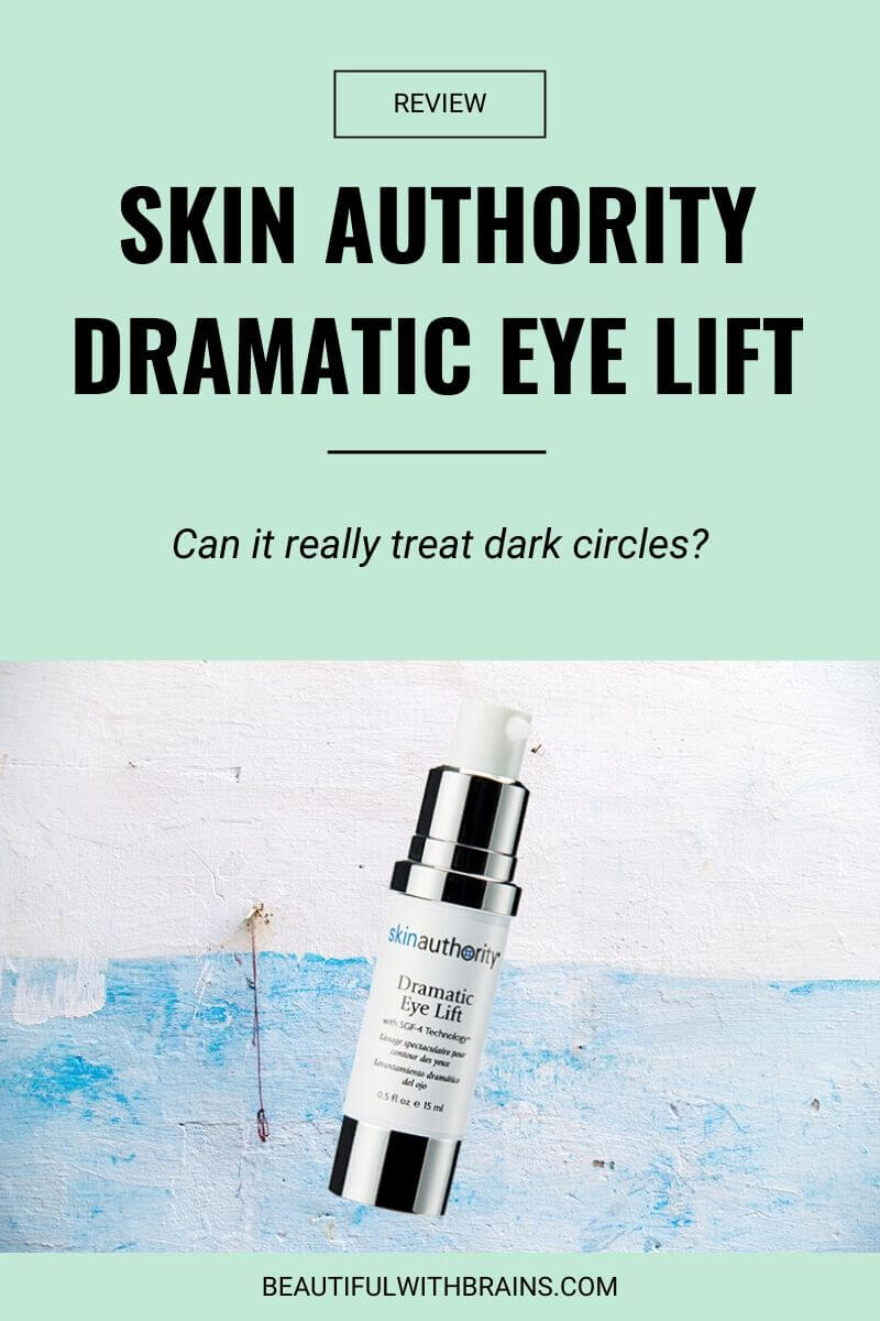 skin authority dramatic eye lift review