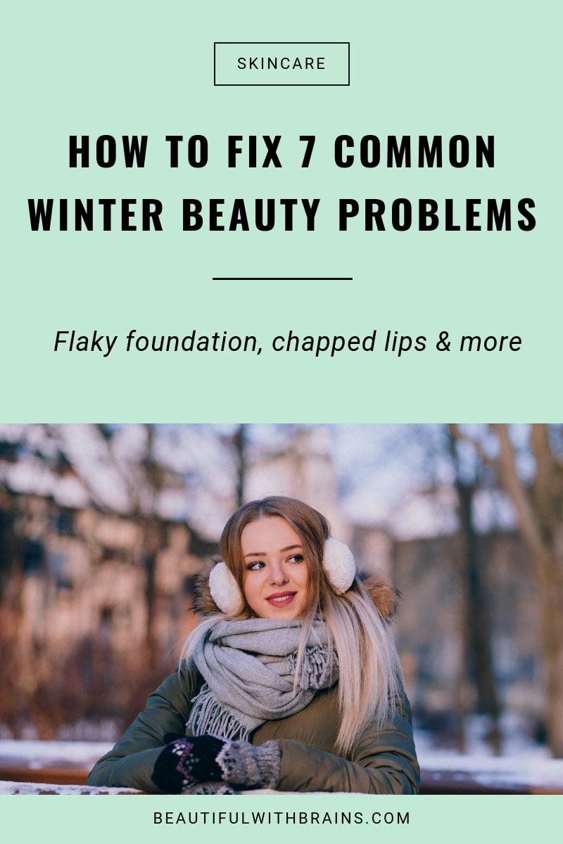 7 winter beauty problems