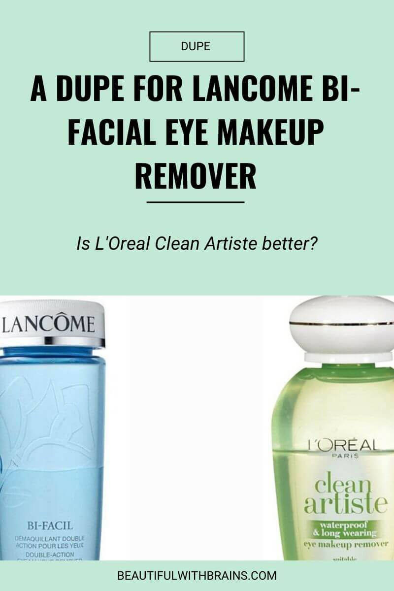 lancome bi-facil eye makeup remover dupe