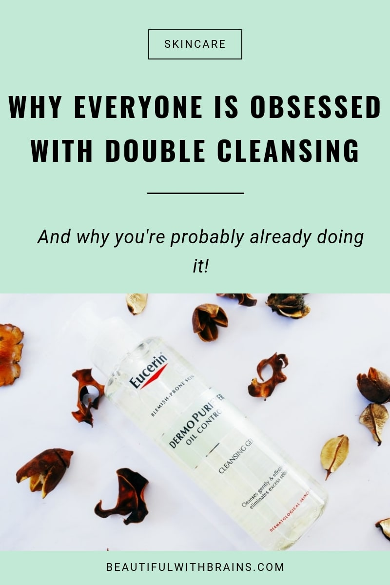 need to double cleanse