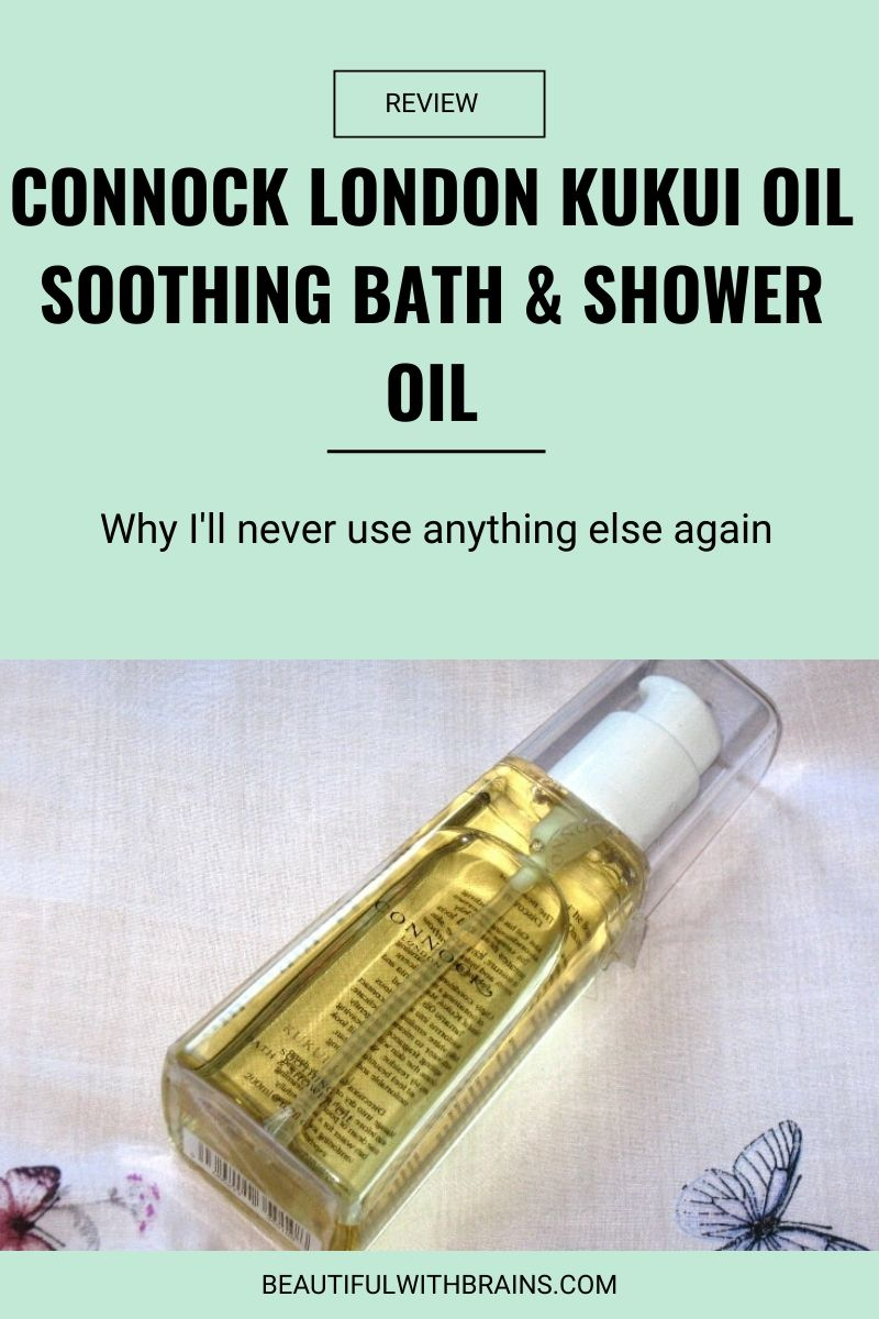 connock london kukui oil soothing bath and shower oil review