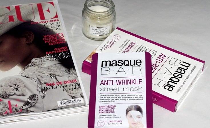 masque bar anti-wrinkle sheet mask