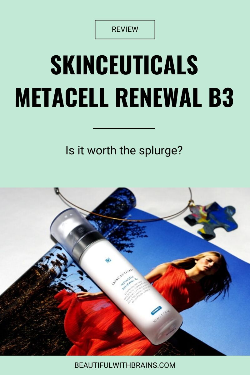 skinceuticals metacell renewal b3 review