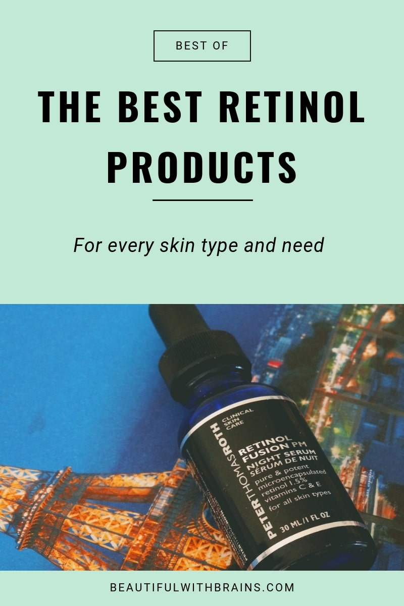 the best retinol products