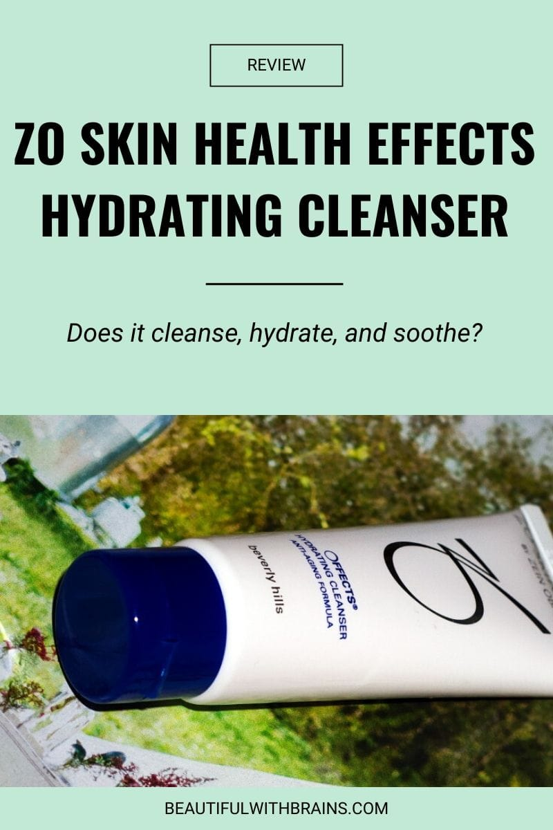 ZO Skin Health Effects Hydrating Cleanser review