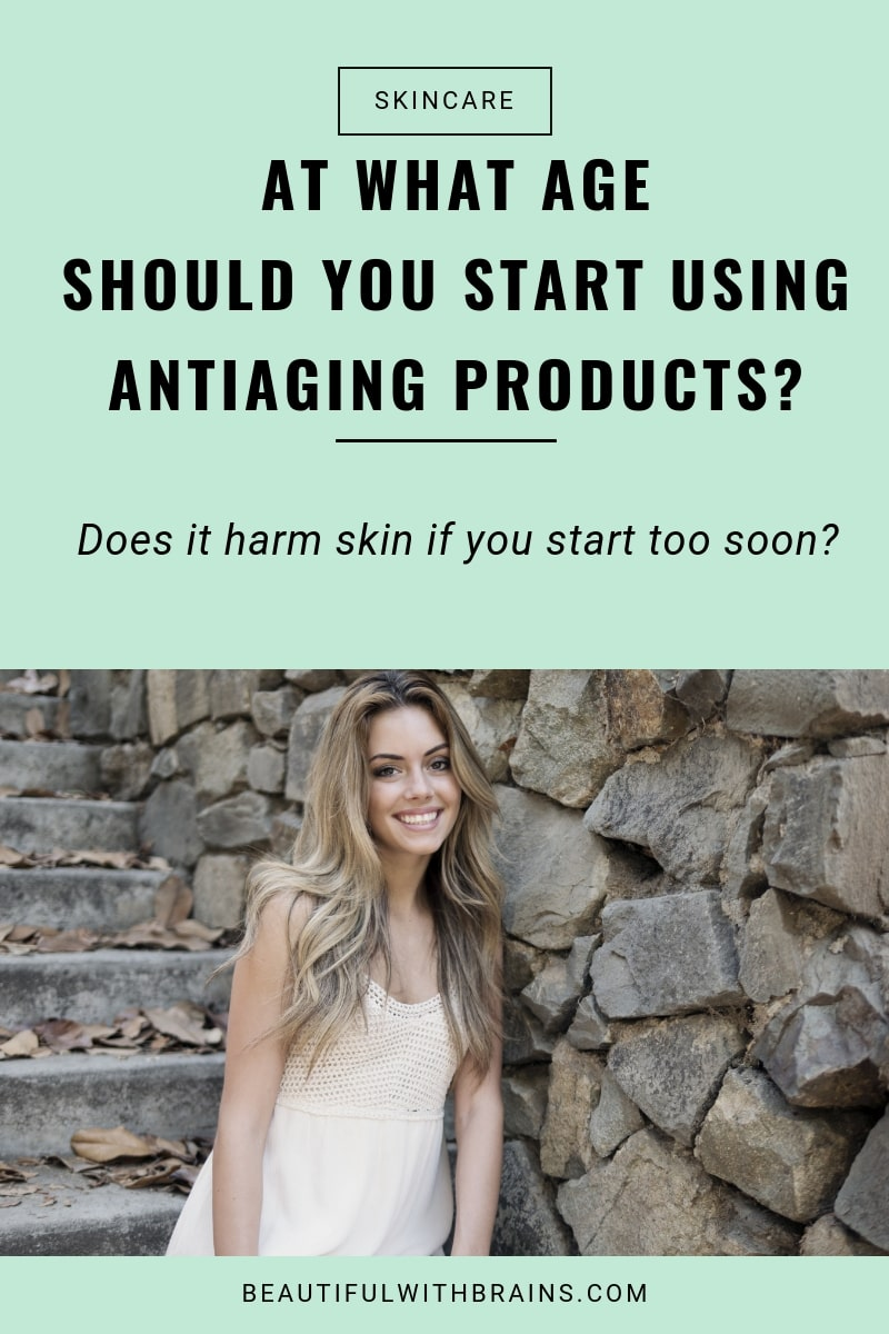 at what age should you start using antiaging products