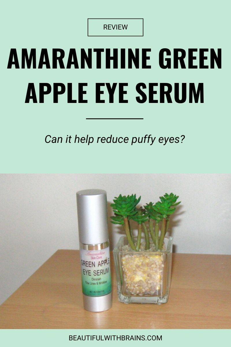 Amaranthine Green Apple Eye Serum review
