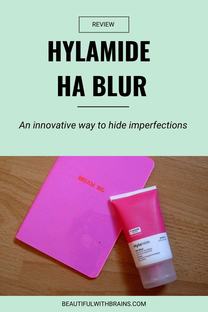hylamide ha blur review