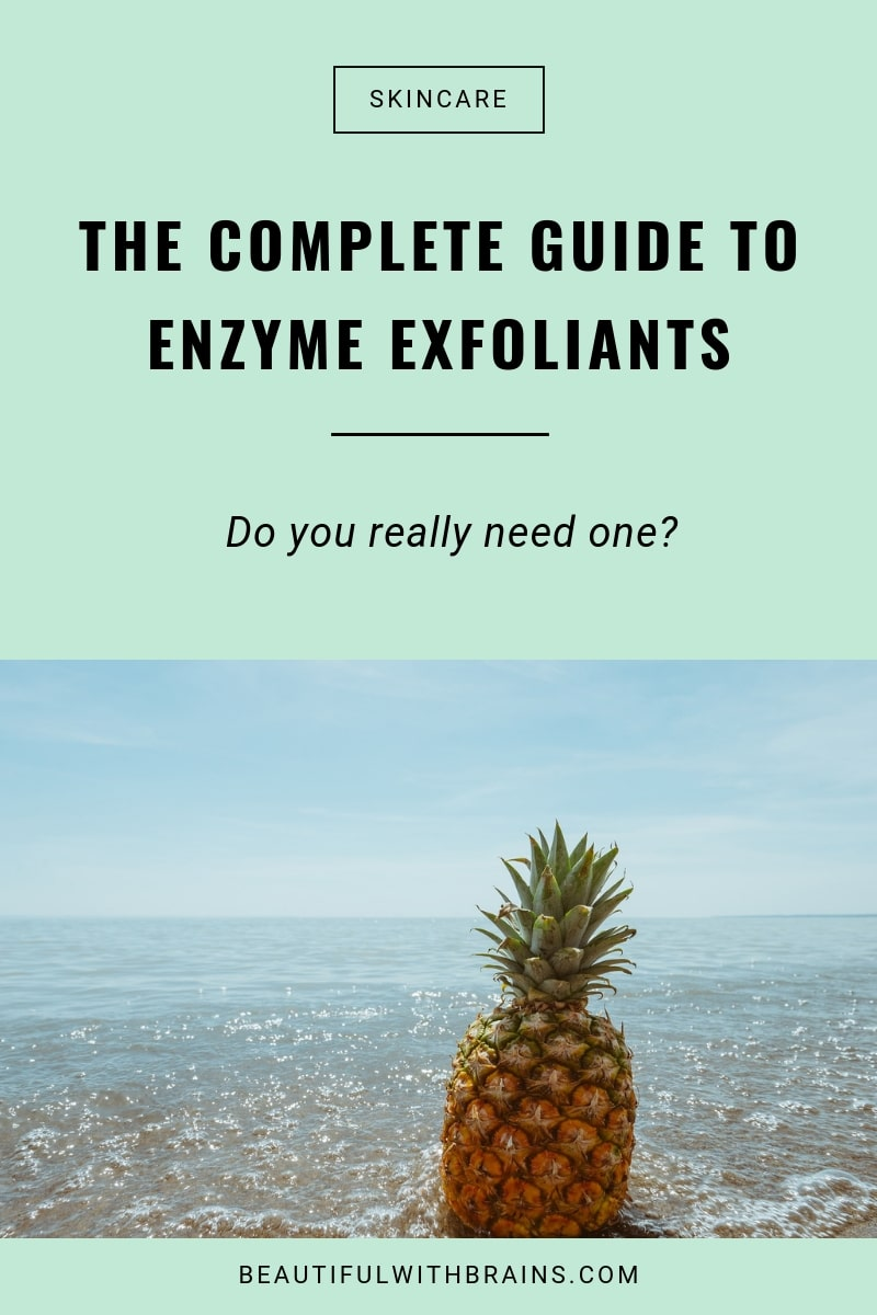 guide to enzyme exfoliants