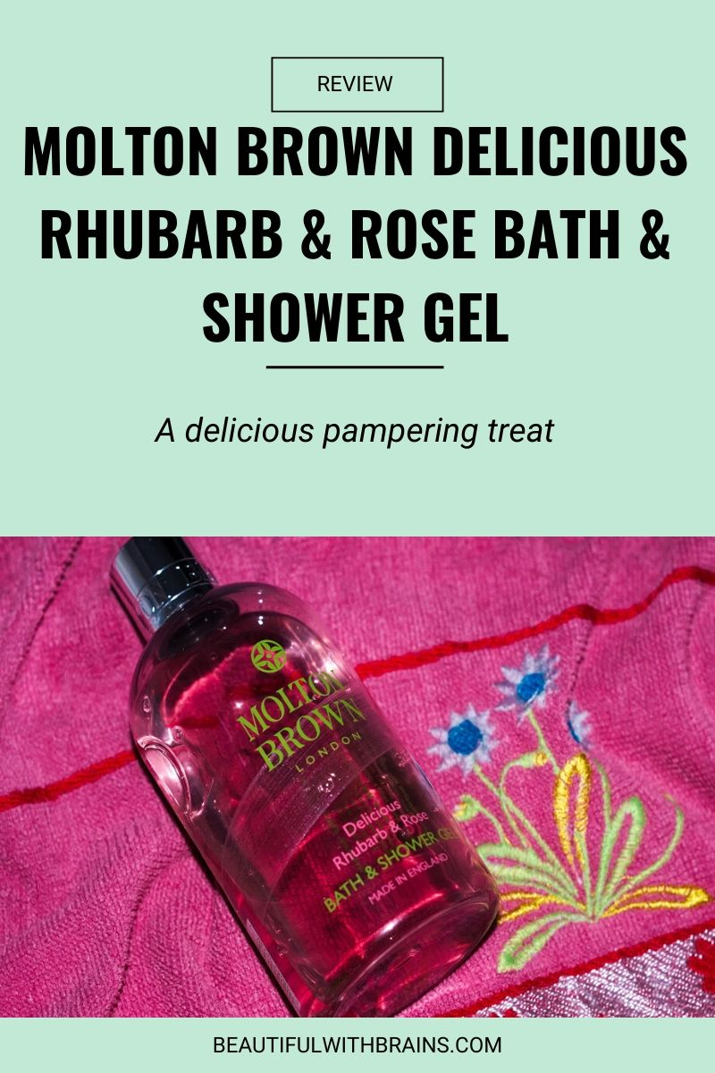 Molton Brown Delicious Rhubarb & Rose Bath & Shower Gel review