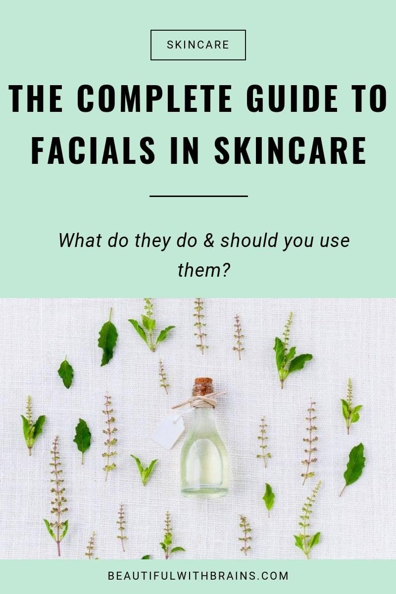 guide to facial oils