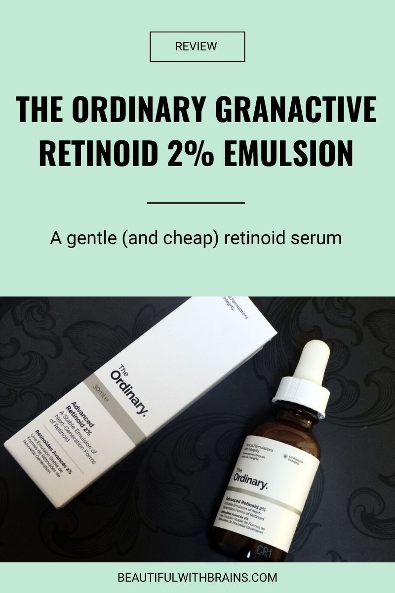 The Ordinary Granactive Retinoid 2% Emulsion review