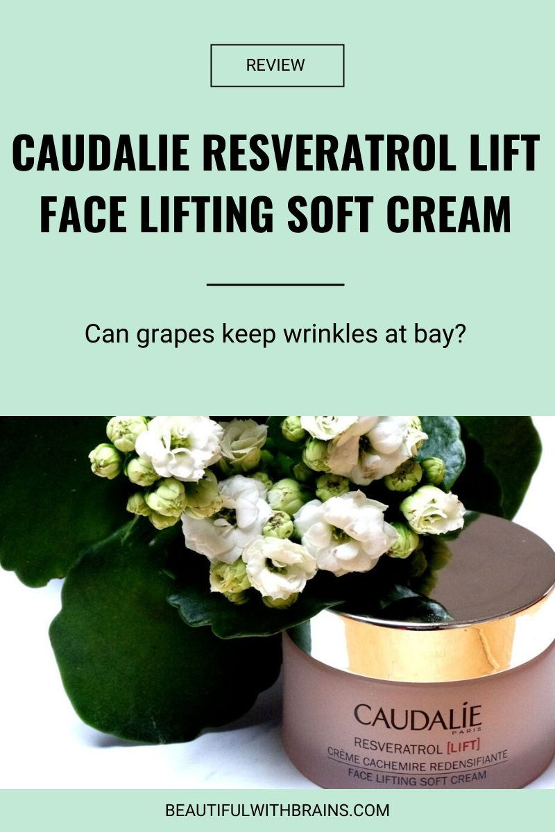 Caudalie Resveratrol Lift Face Lifting Soft Cream Beautiful With