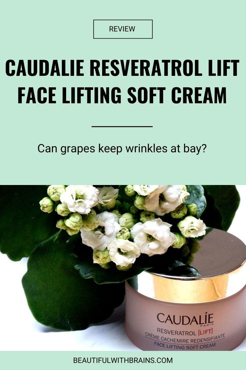 Caudalie Resveratrol Lift Face Lifting Soft Cream review