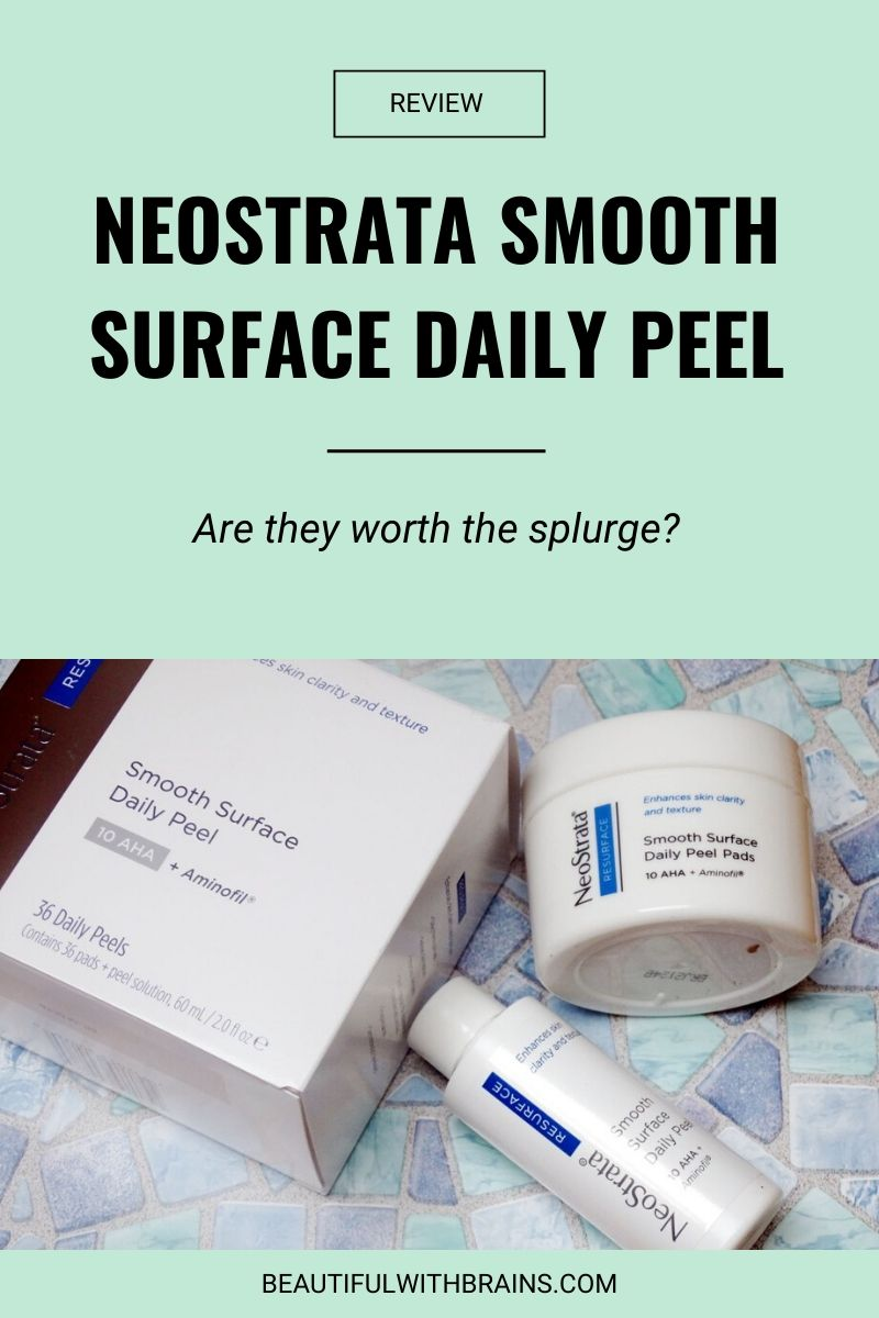 Neostrata Smooth Surface Daily Peel review