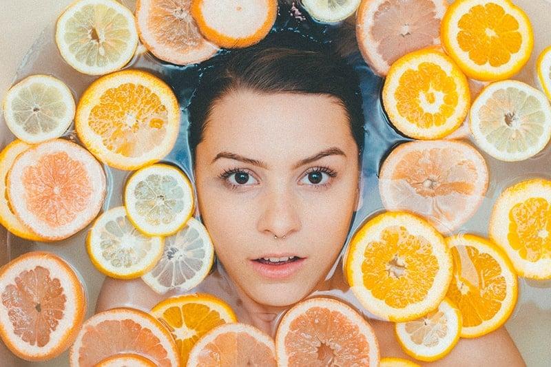 vitamin c peel review