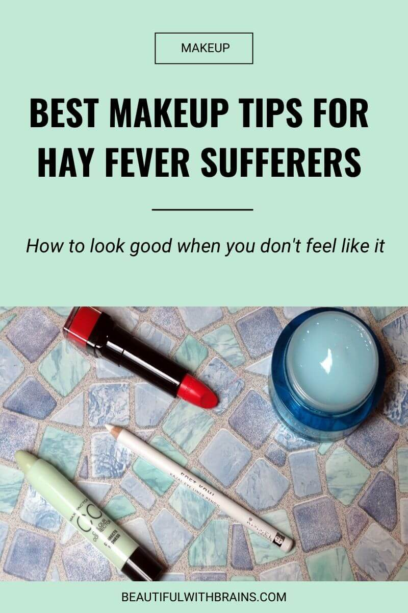 makeup tips for hay fever sufferers