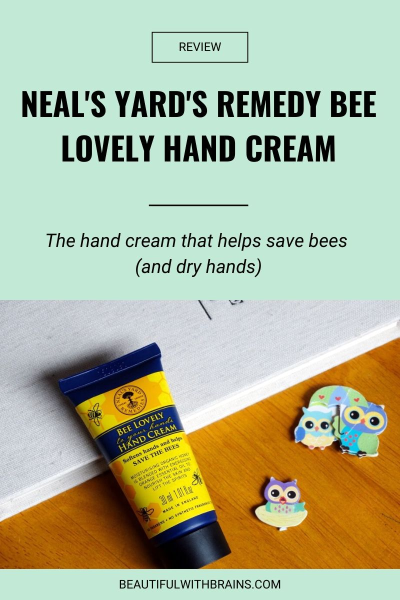 Neal's Yard's Remedy Bee Lovely Hand Cream review