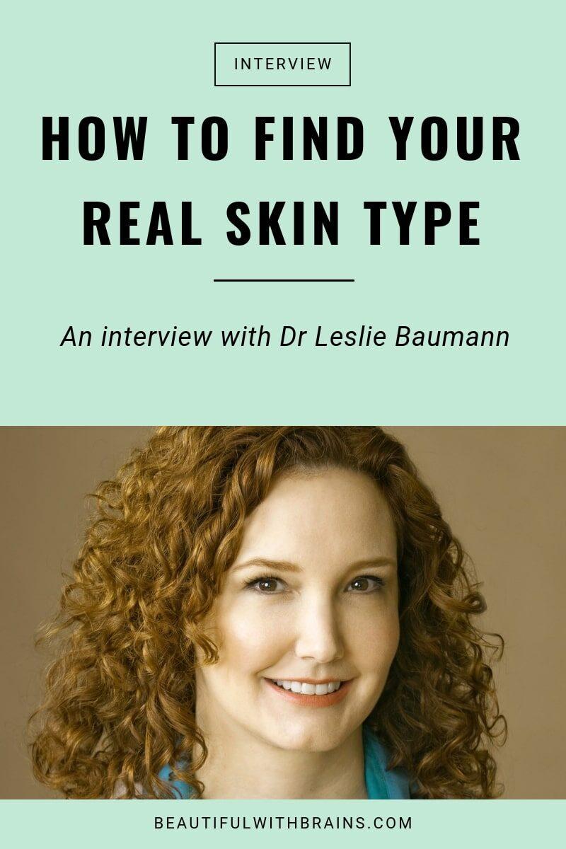 leslie baumann skin types interview