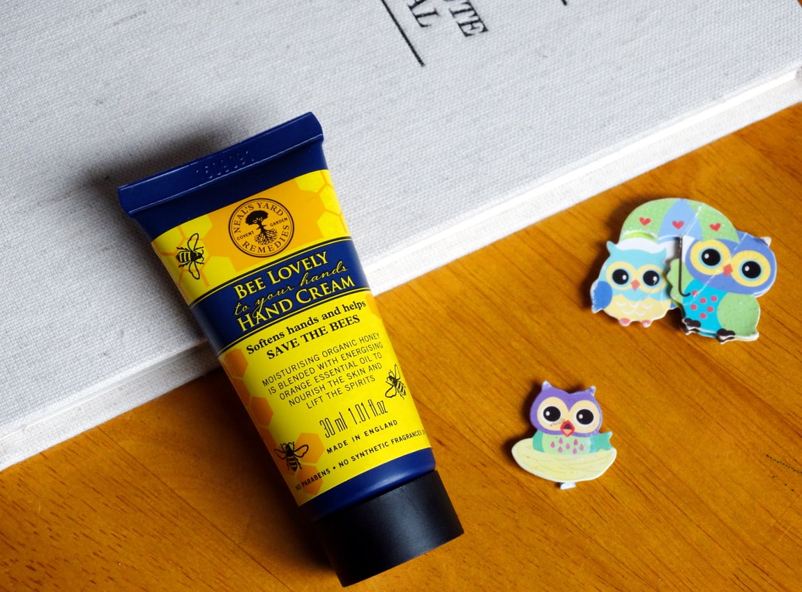 neal's yard remedies bee lovely hand cream