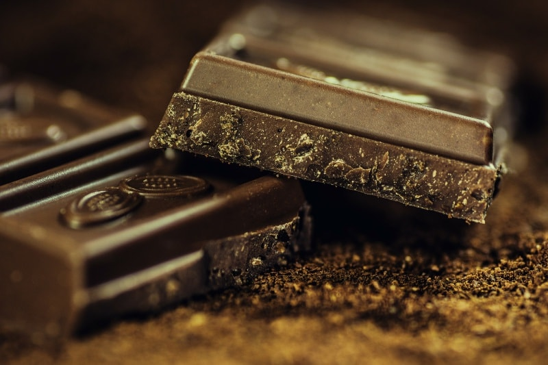 diet change for healthy skin dark chocolate