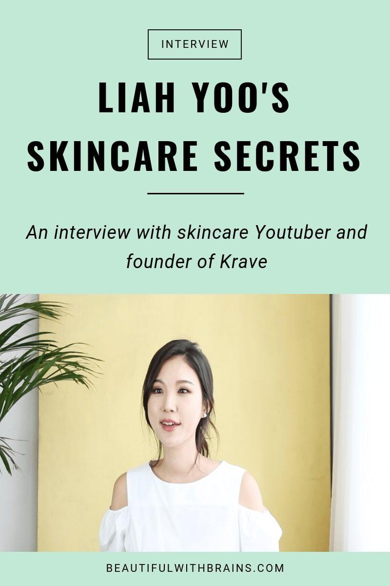 liah yoo skincare secrets interview
