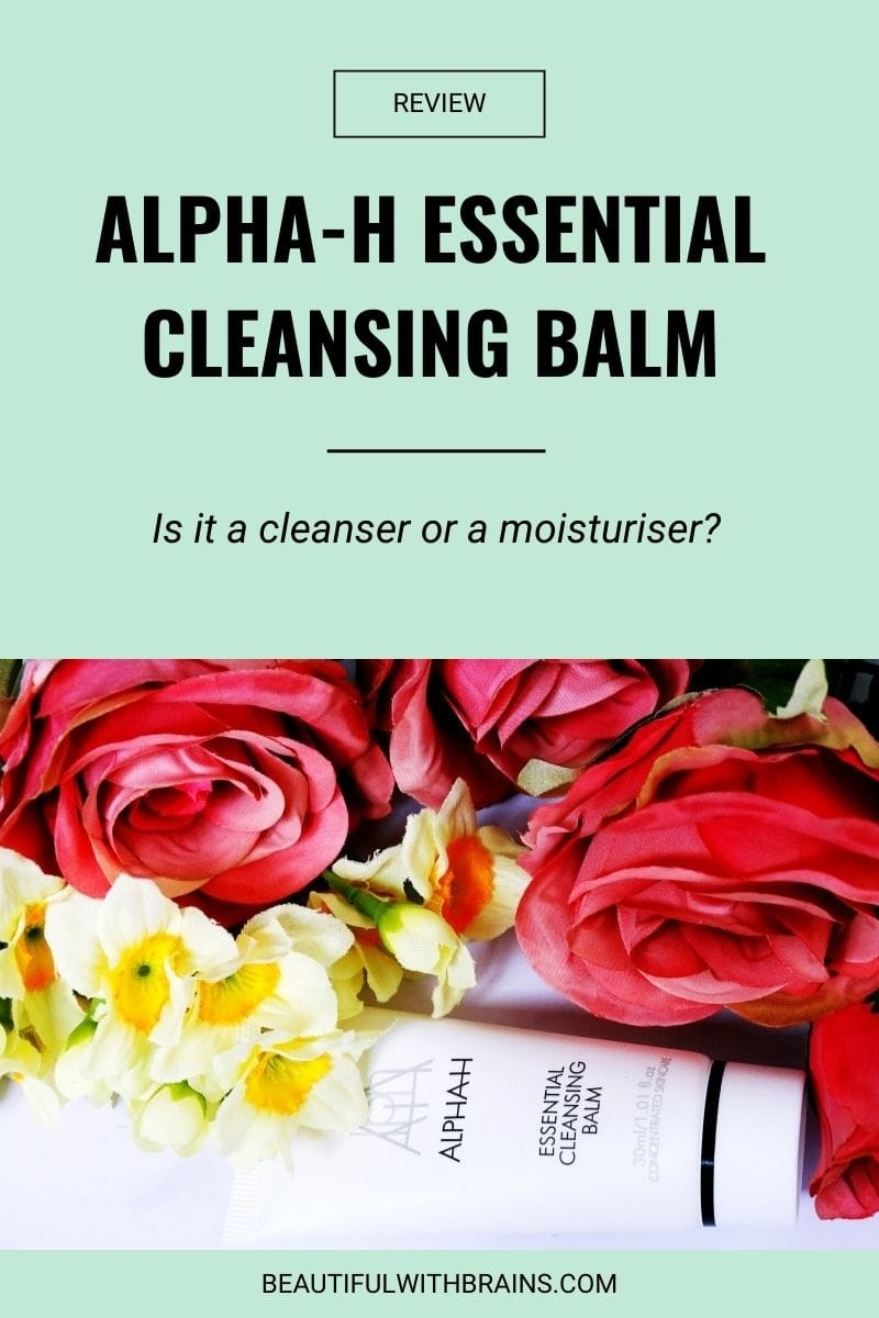 alpha-h essential cleansing balm review