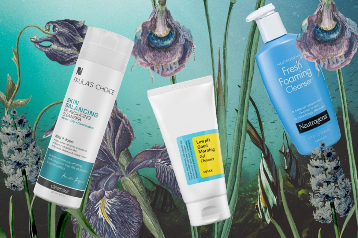 foaming cleansers bad for skin