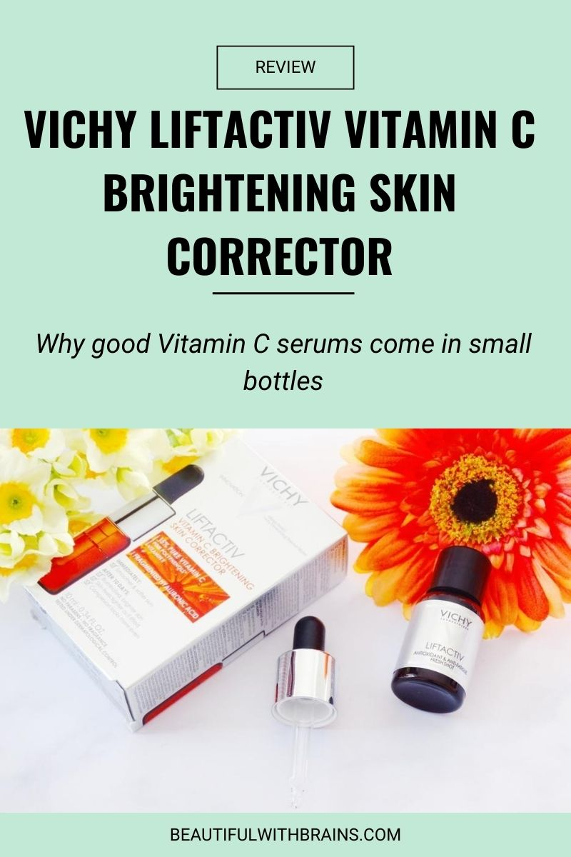 Vichy LiftActiv Vitamin C Brightening Skin Corrector review