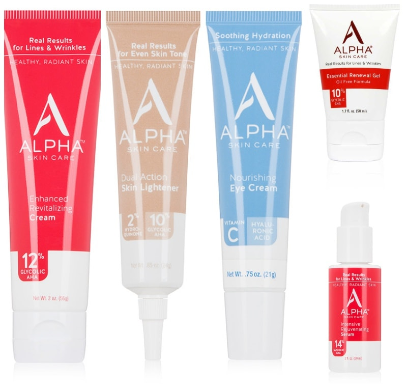 alpha skincare best products