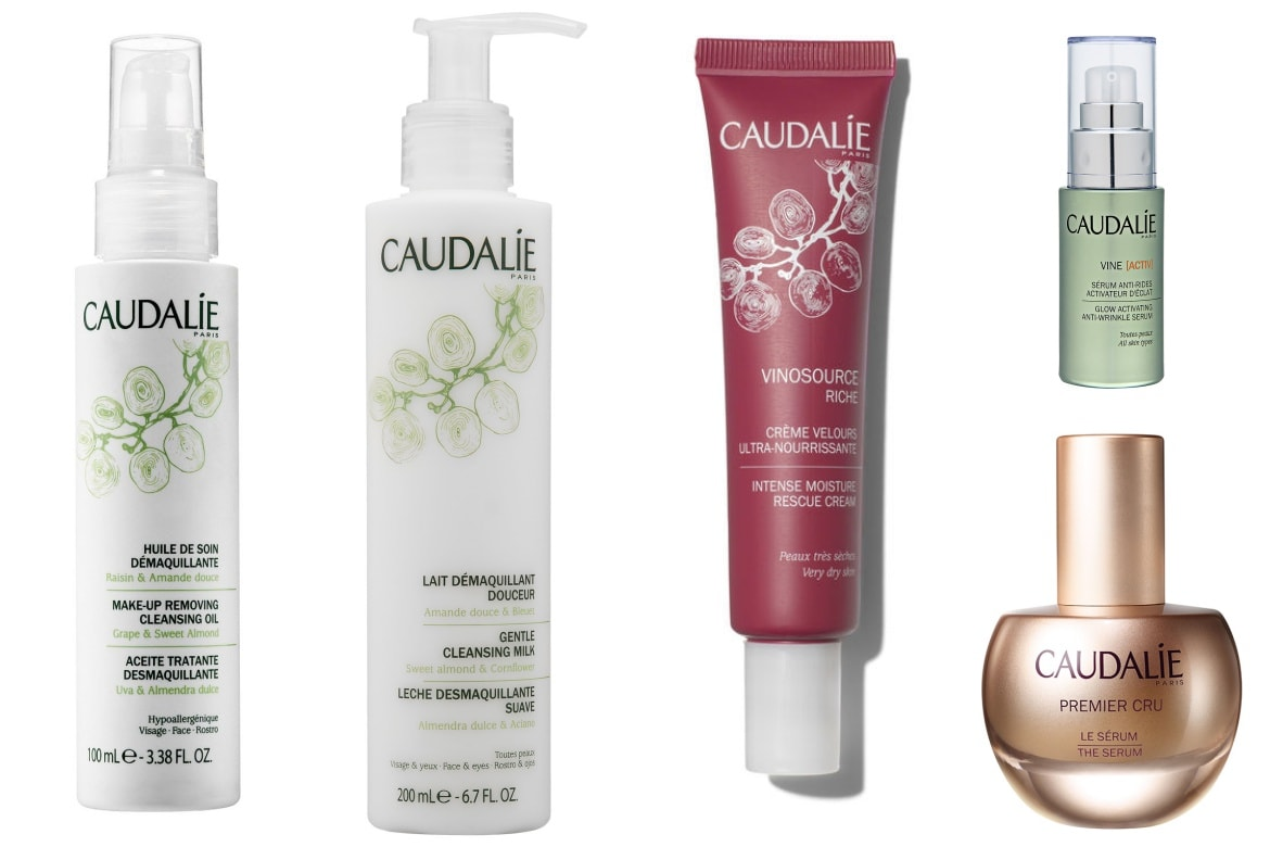 caudalie best skincare products
