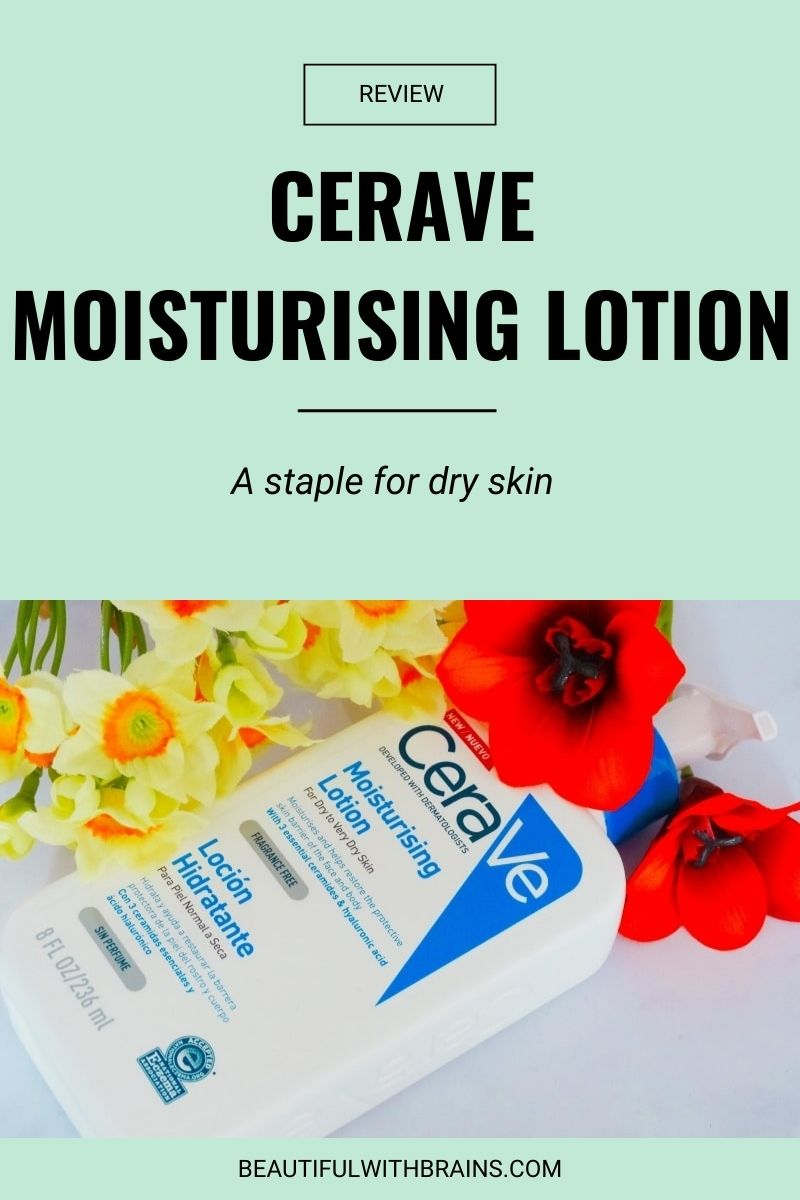 cerave moisturising lotion review