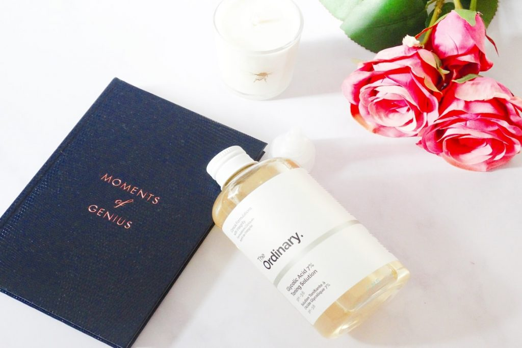 the ordinary glycolic acid toning solution
